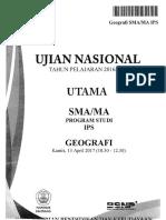 UN Geografi 2017 Bimbingan Alumni UI