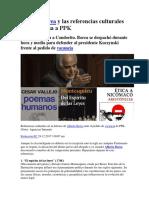 Citas de Alberto Borea (El Comercio)