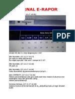 Jurnal E-rapor Smp Group