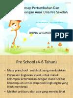 Dhina W.tukem Pre Sekolah