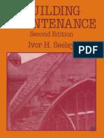 Building Maintenance _ Ivor H. Seeley