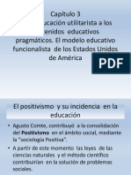 Exposicion Capitulo 3 de La Educacion Utilitarista