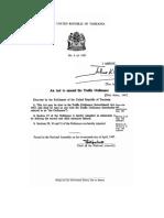 The Traffic Ordinance (Amendment) Act, 8-1967