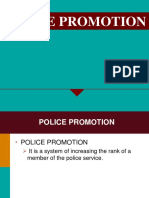 Police Promotion