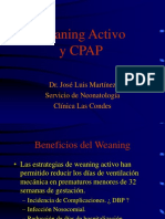 Weaning Activo y Cpap