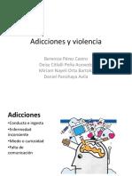 Adicciones y Violencia