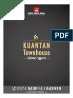 Brosur Perumahan Di Yogyakarta - Kuantan Townhouse Giwangan