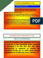 The Bombay Shops & Establishment Act 1948