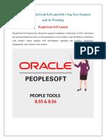 ORACLE PEOPLE TOOLS 8.55 & 8.56 | IQ ONLINE