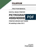 Fujifiml 4500n Pp3-b504eprinterdriverosx
