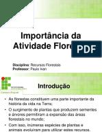 Importancia d Activ Florestal