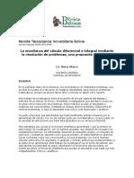 Revista Tecnociencia Universitaria Bolivia