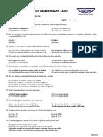SEL(AVIO)- Avalia+º+úo Final prova B