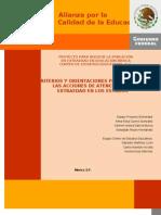 Criterios y Orientaciones Julio 2009