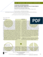 [Serbian Journal of Experimental and Clinical Research] Secondary Hypertension Differential Diagnosis and Basic Principles of Treatment