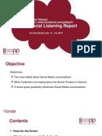 Globetel Social Listening Report 2017Oct11to13 20171013 v0.4