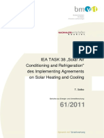 Solar Air Conditioning and Refeigeration