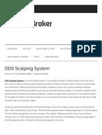 DDS Scalping System – Forexobroker
