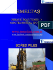 Unique Solutions in Geotechnical Works