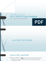 Guideline for Dummies 3G - CSSR Fast Analyze