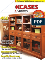 Woodsmith-W1001 (Bookcases, Cabinets - Shelves, Volume 2)