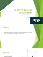 Analisis Cinematico Algebra Compleja