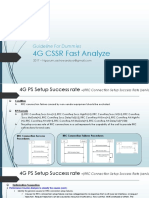 Guideline for Dummies 4G - CSSR PS Fast Analyze