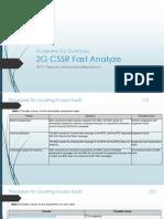 Guideline for Dummies 2G - CSSR Fast Analyze