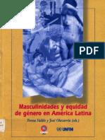 Masculinidades y equidad de género en América Latina