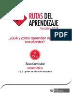 RUTAS 2015 Documentos Secundaria Matematica-VI