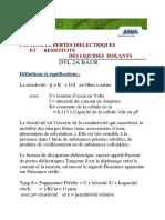 Presentation Appareil Tang Delta Et Résistivité