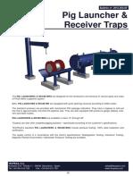 Pig Launcher Receiver Traps