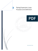Handouts_Piping Expansion Loop. Purpose and Definition