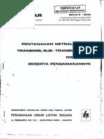SPLN 2_1978 (pentanahan sistem).pdf