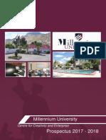 Milenium Prospectus 1