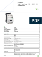 TeSys K_ D_ SK (Auxiliary Contactors)_CAD50R7