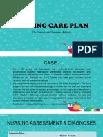 Nursing Care Plan Ppt
