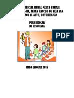 Plan de Respuesta 2018