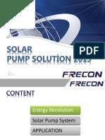 FRECON Solar Pump Solution 2016 en V1 0.1