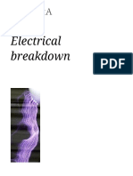 Electrical Breakdown