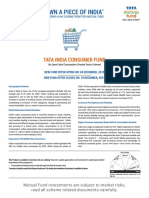 Tata India Consumer Fund Brochure