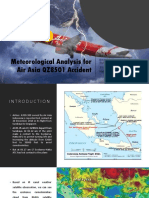 Meteorological Analysis for Air Asia QZ8501 Accident