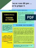 Grippe A et crise financière-Juin 2009