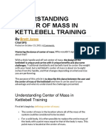 Understanding Center of Mass in Kettlebell Training