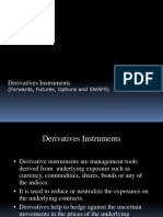 Derivatives Forwards Futures Options