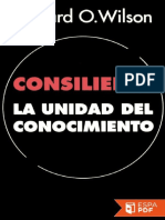 Consilience_ La Unidad Del Conocimiento - Edward Osborne Wilson