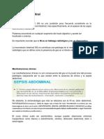 Neumatosis Intestinal
