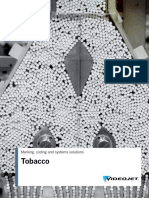 Tobacco - Marking, Coding and Systems Solutions