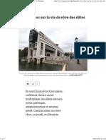 Le Livre Choc Sur La Vie de Rêve Des Élites de l'Etat - Le Parisien
