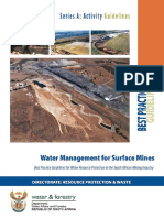 a5 Water Management for Surface Mines